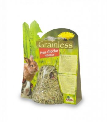 Jr Farm Grainless Campana di fieno con Ibisco - Ziprar.com