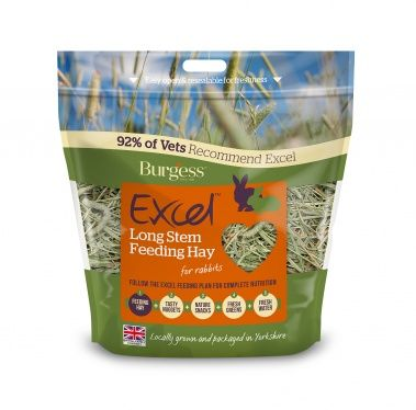 Burgess Excel Fieno LONG STEM FEEDING 1kg - Ziprar.com