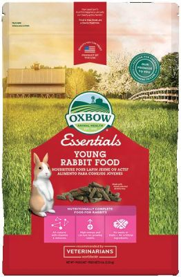 Mangime Oxbow Young Rabbit Essentials 4